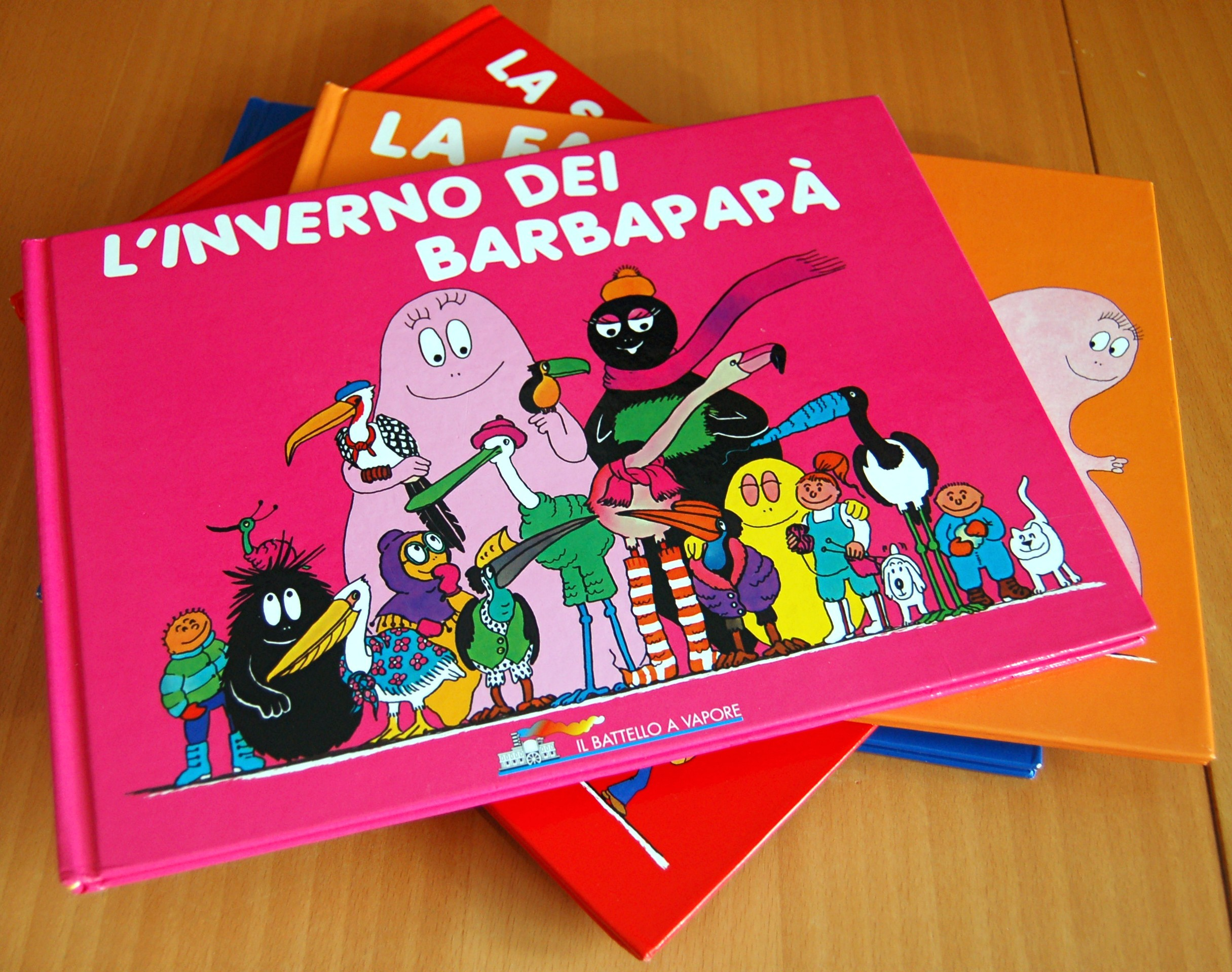 barbapapa-books