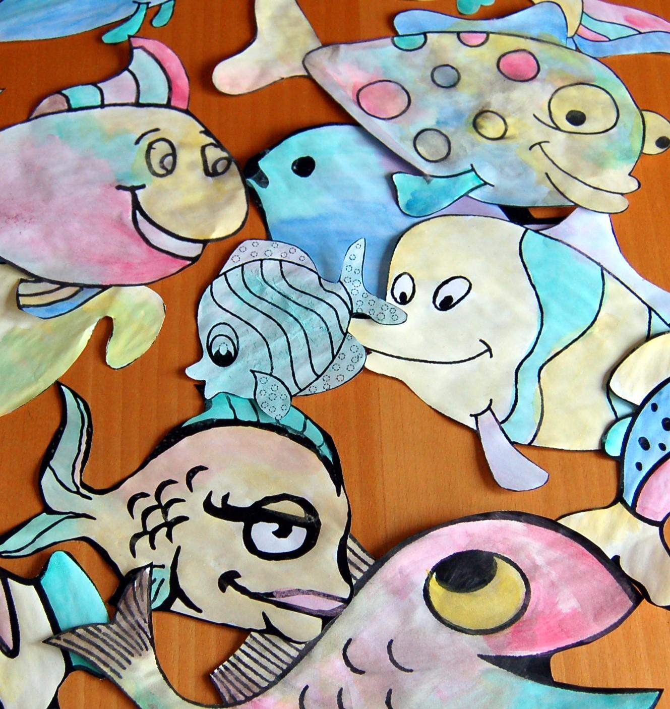 Pesce d aprile for Disegni pesciolino arcobaleno