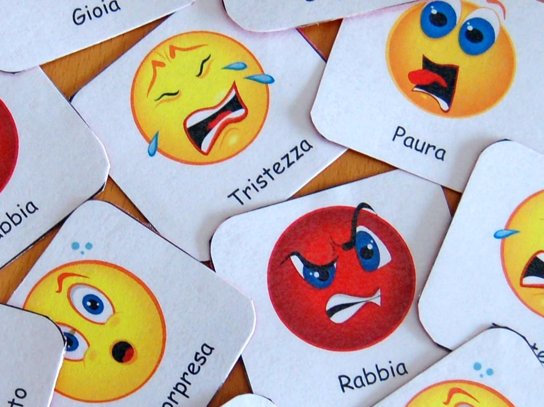 Creata la prima mappa delle emozioni umane - Dove stampare pagine a colori ...