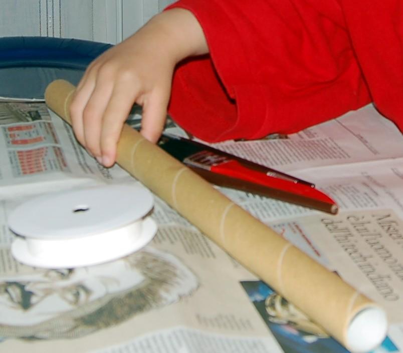 Costruire una spada di cartone for Costruire una torre di osservazione