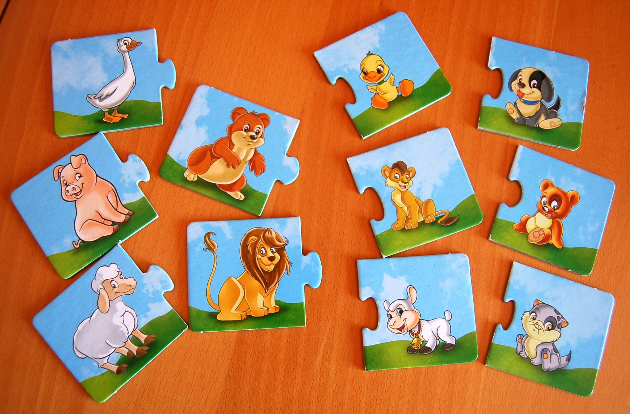 Giochi rilassanti il memory mamme e cuccioli for Memory da stampare