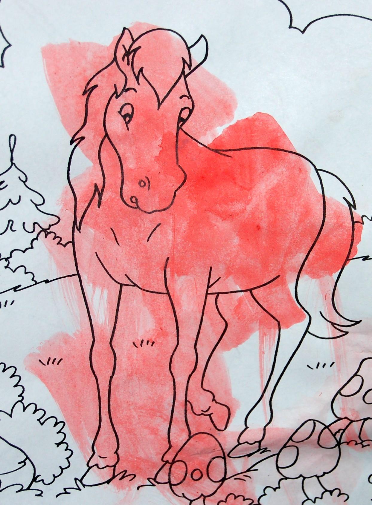 Furia il cavallo del west lavoretti e disegni sui cavalli for Immagini di cavalli da disegnare
