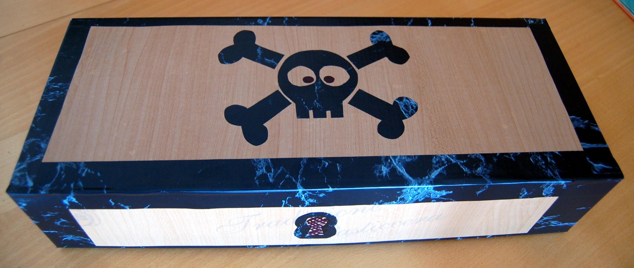 Il forziere dei pirati un contenitore fai da te per giochi