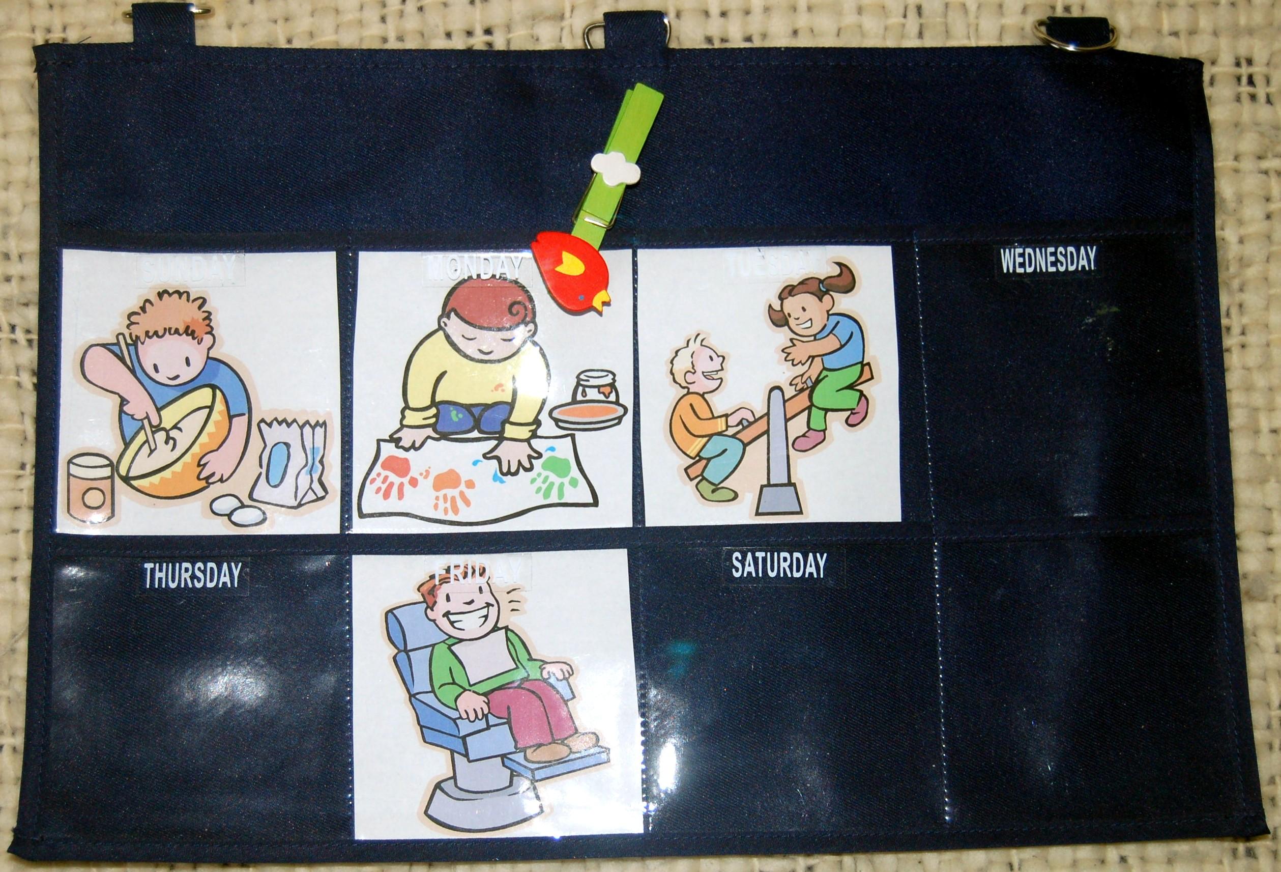 Calendario Per Bambini Fai Da Te.Imparare I Giorni Della Settimana Un Calendario Settimanale
