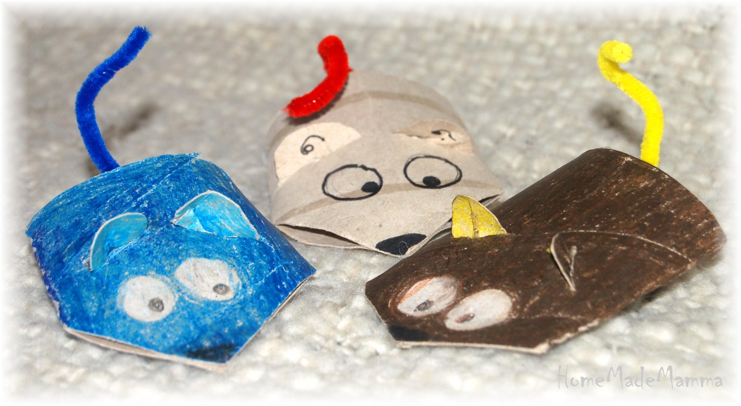 Top il topolino creare giochiattoli con cartone