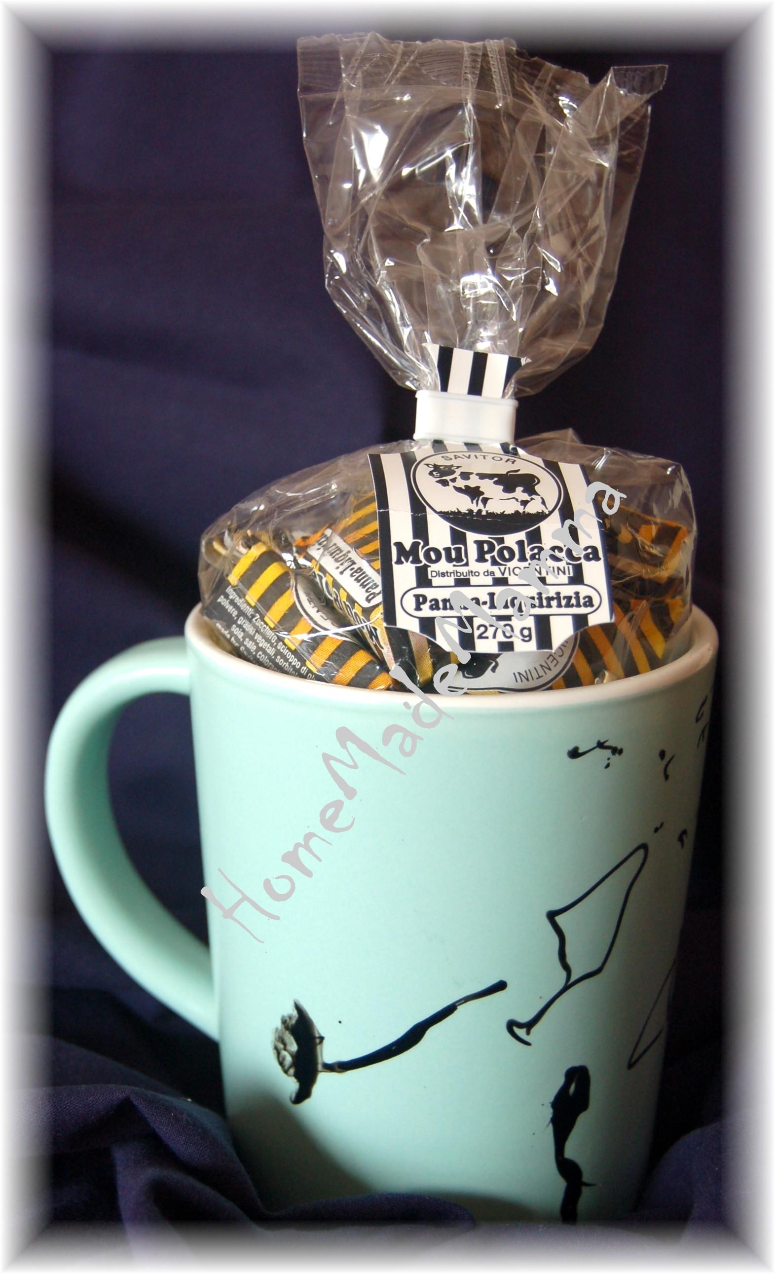Tazze Da Te Personalizzate un regalo fai da te per papà ema: la tazzina dei dolcetti