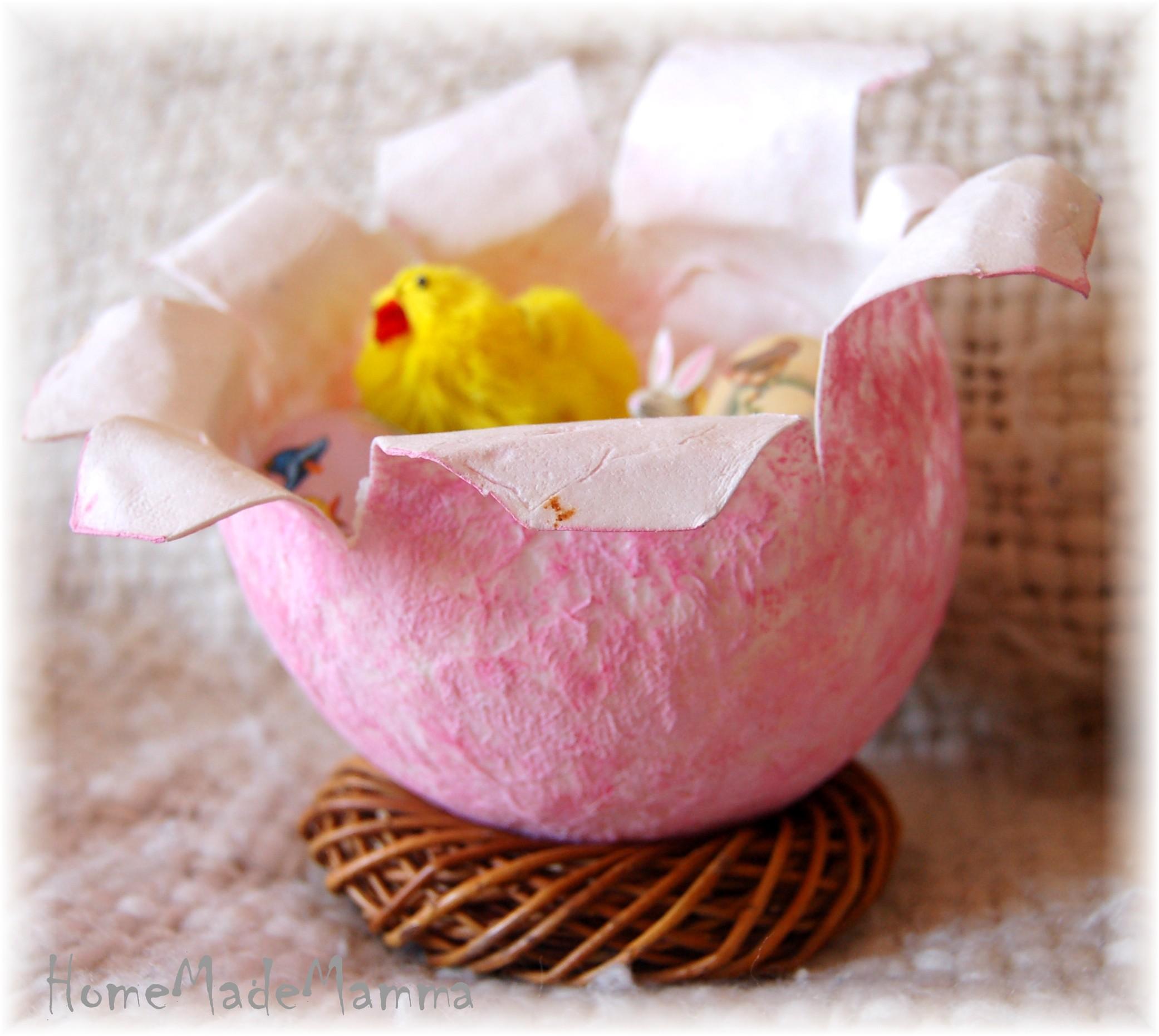 Uova e coniglietti i lavoretti pasquali di piccolo furfante
