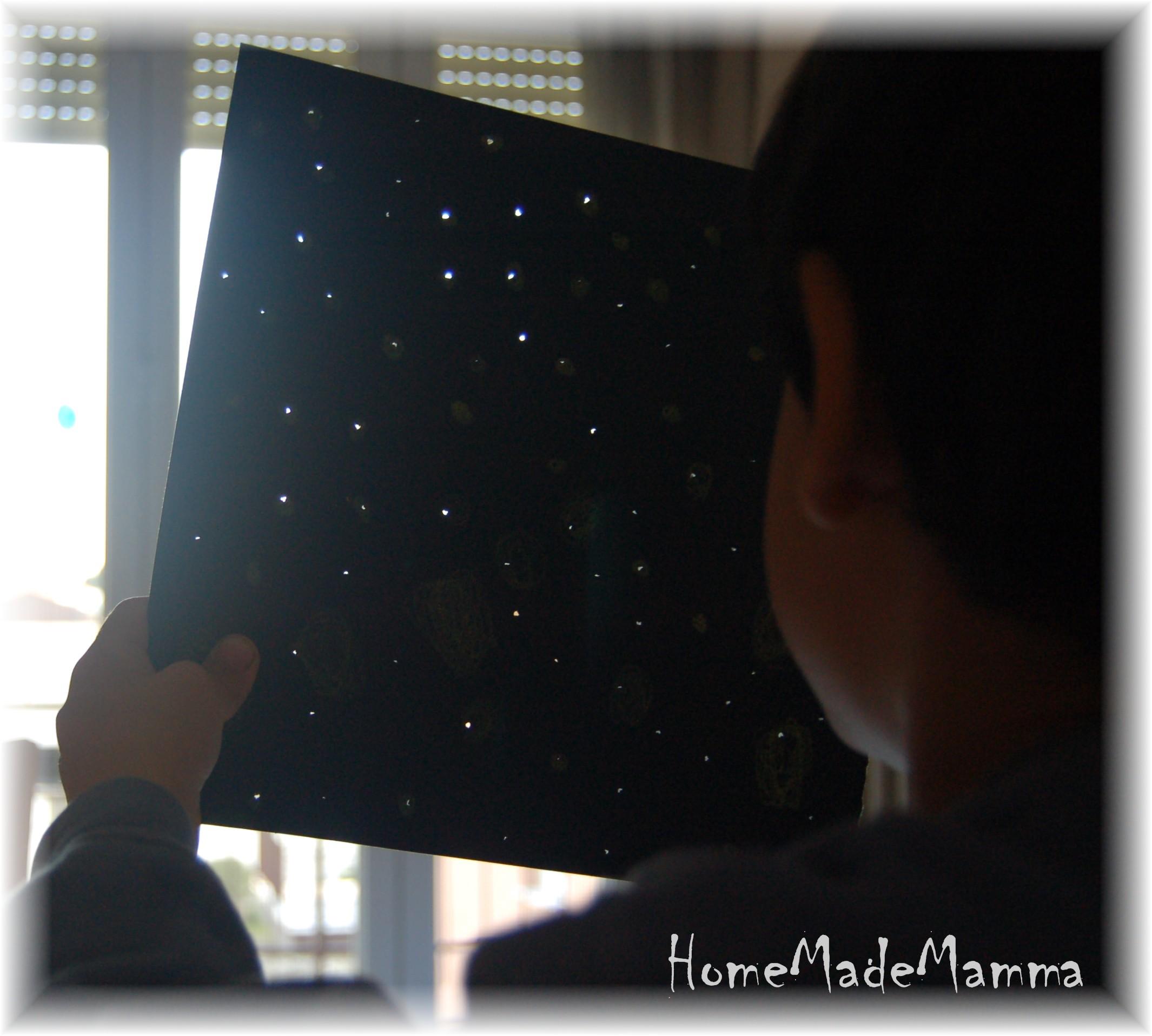 La magia di un cielo stellato
