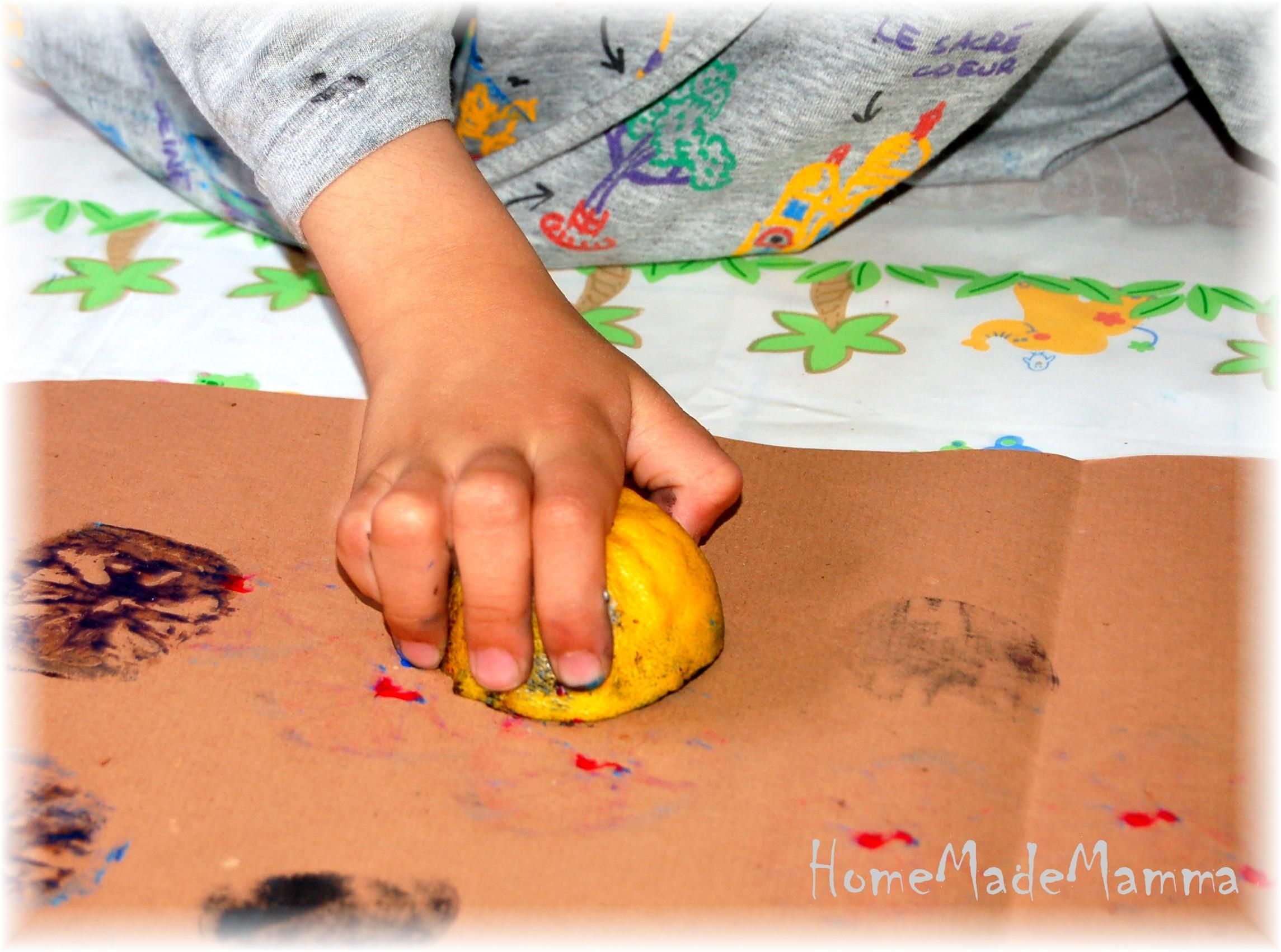 Timbri naturali per giocare con l arte e la fantasia for Cose con la s