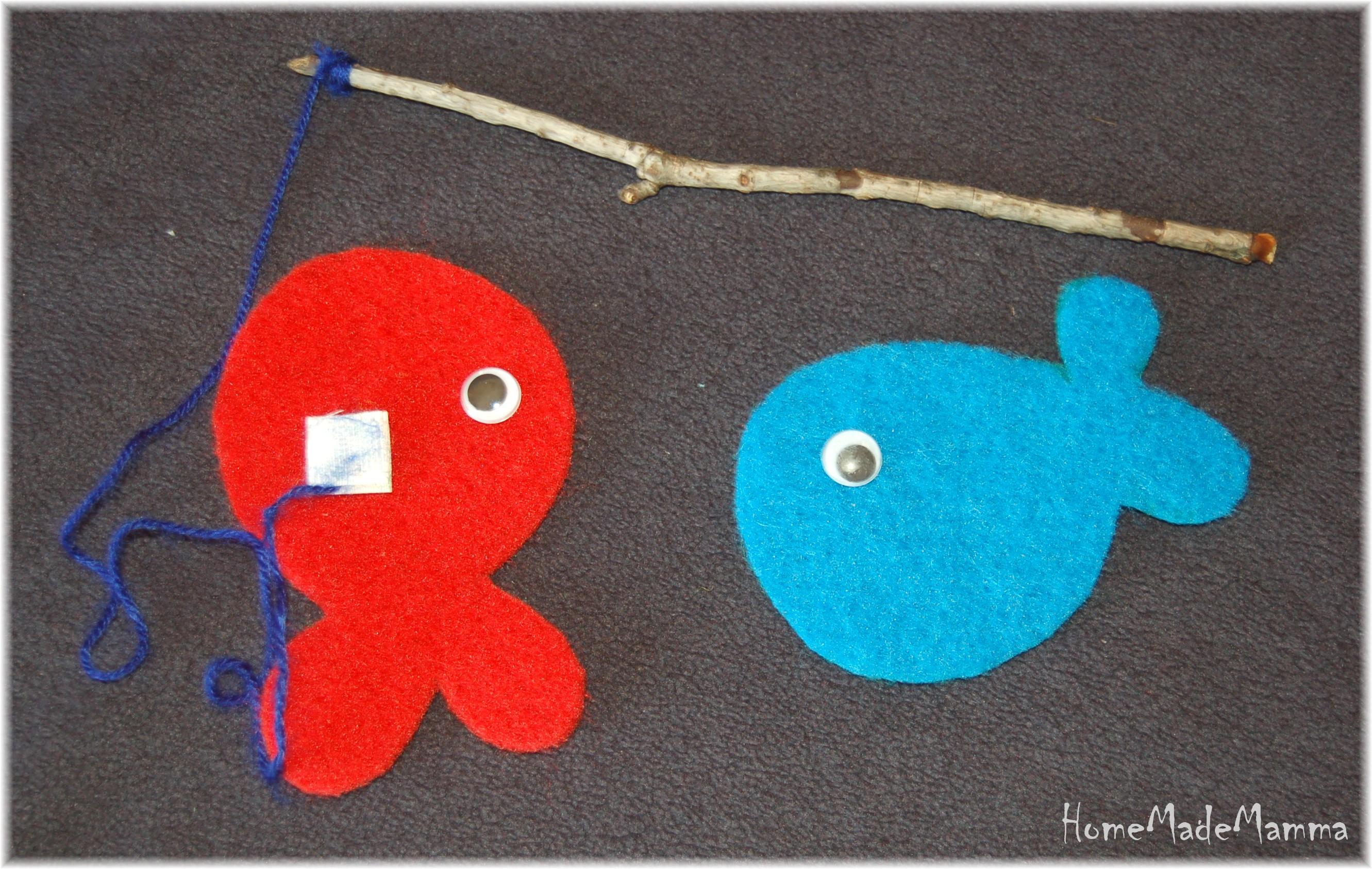 Imparare colori for Creare pesci