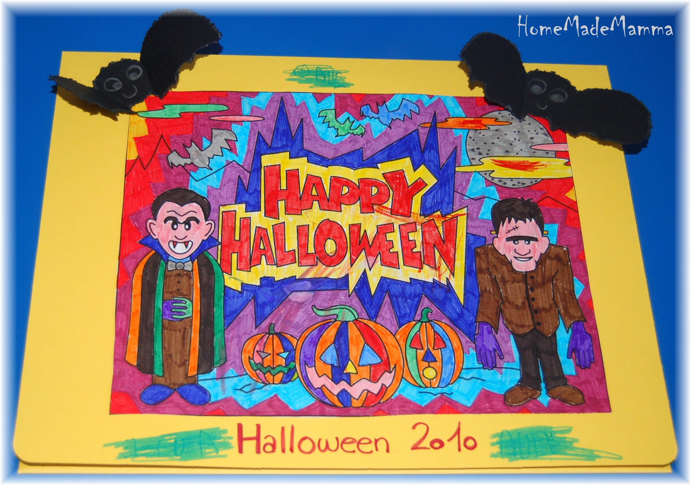 Il Libro Dei Disegni Di Halloween