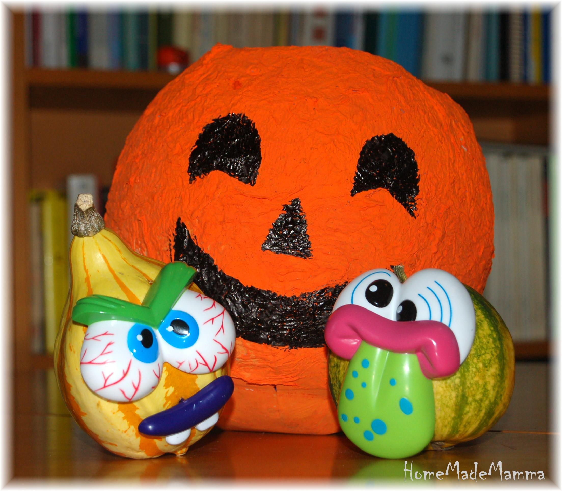 Zucca Halloween Cartapesta.Zucca Di Cartapesta Portacaramelle E Il Gioco Cerca Trova