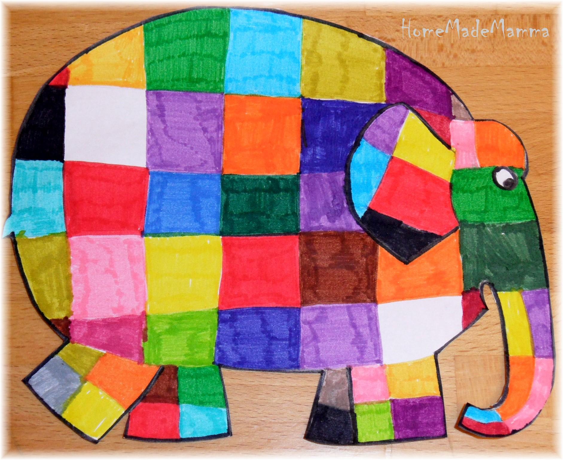Imparare I Colori Con Lelefantino Elmer
