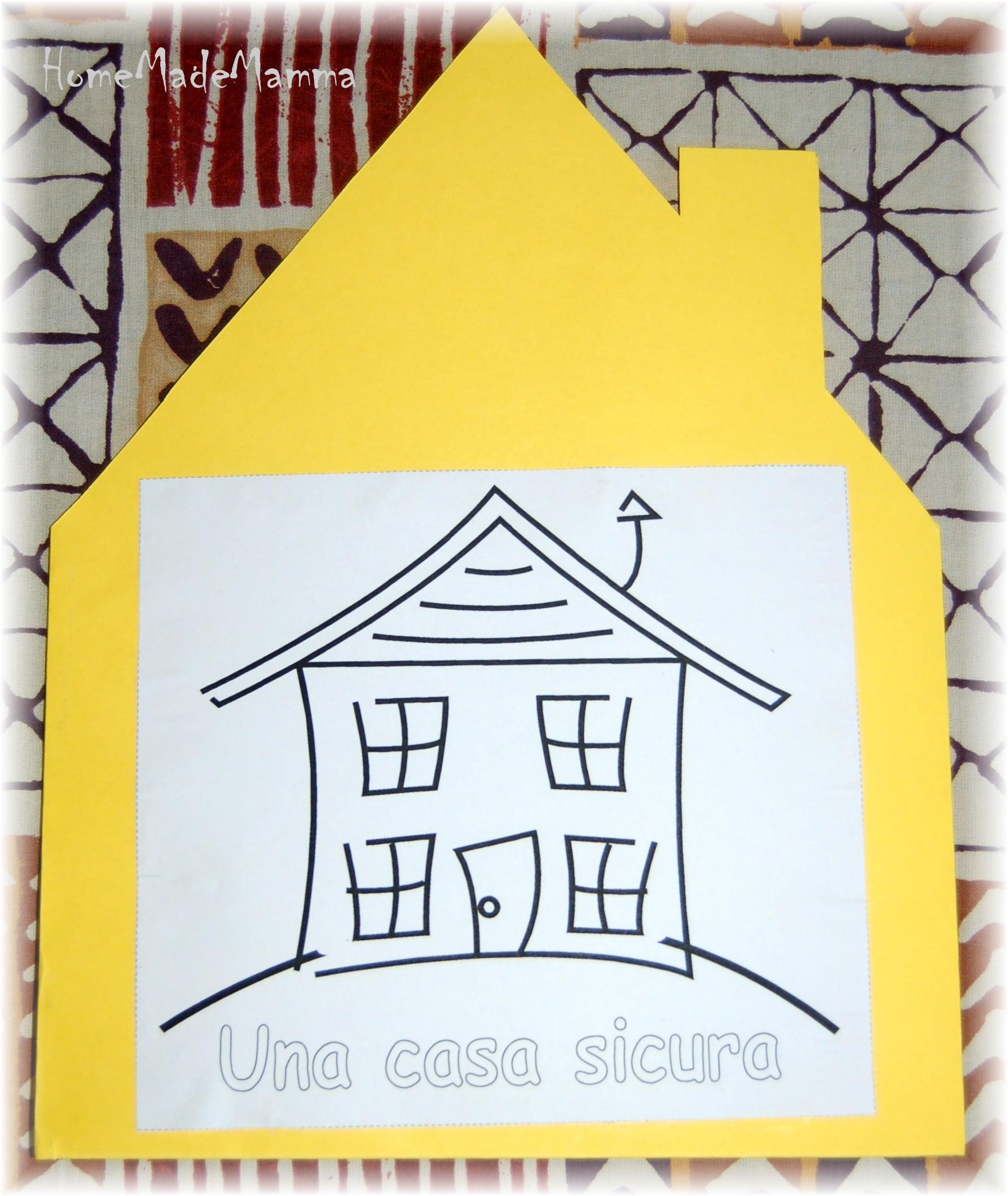 Una casa sicura un libro fai da te per parlare di for Tempo per costruire una casa