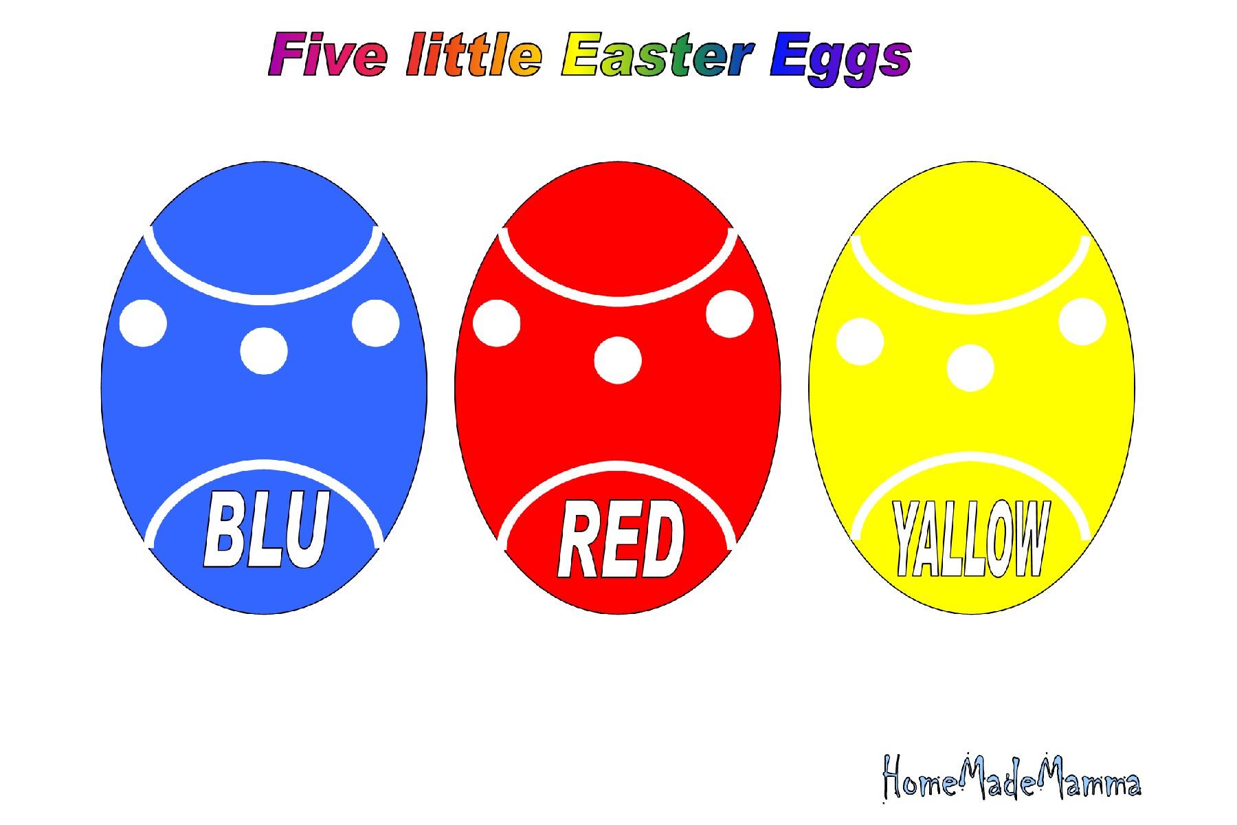 Uova Di Pasqua Per Giocare Con Linglese