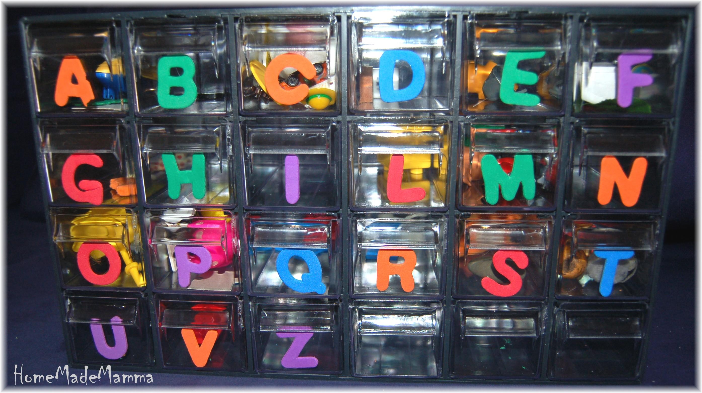 Ben noto La scatola delle lettere ovvero un alfabetiere in 3 dimensioni | OY75