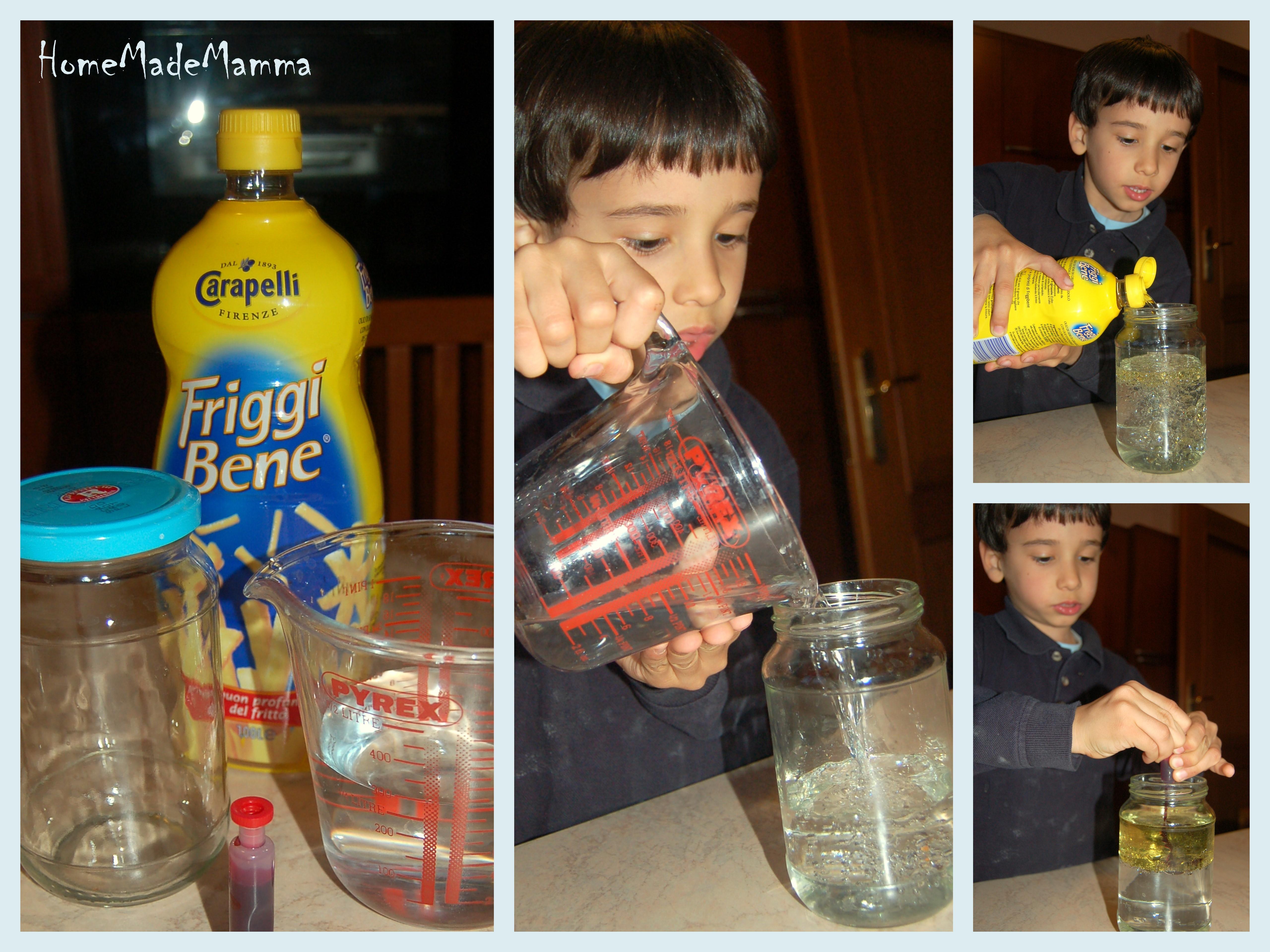 Favoloso Esperimenti scientifici con i bambini: l'inchiostro magico DE36