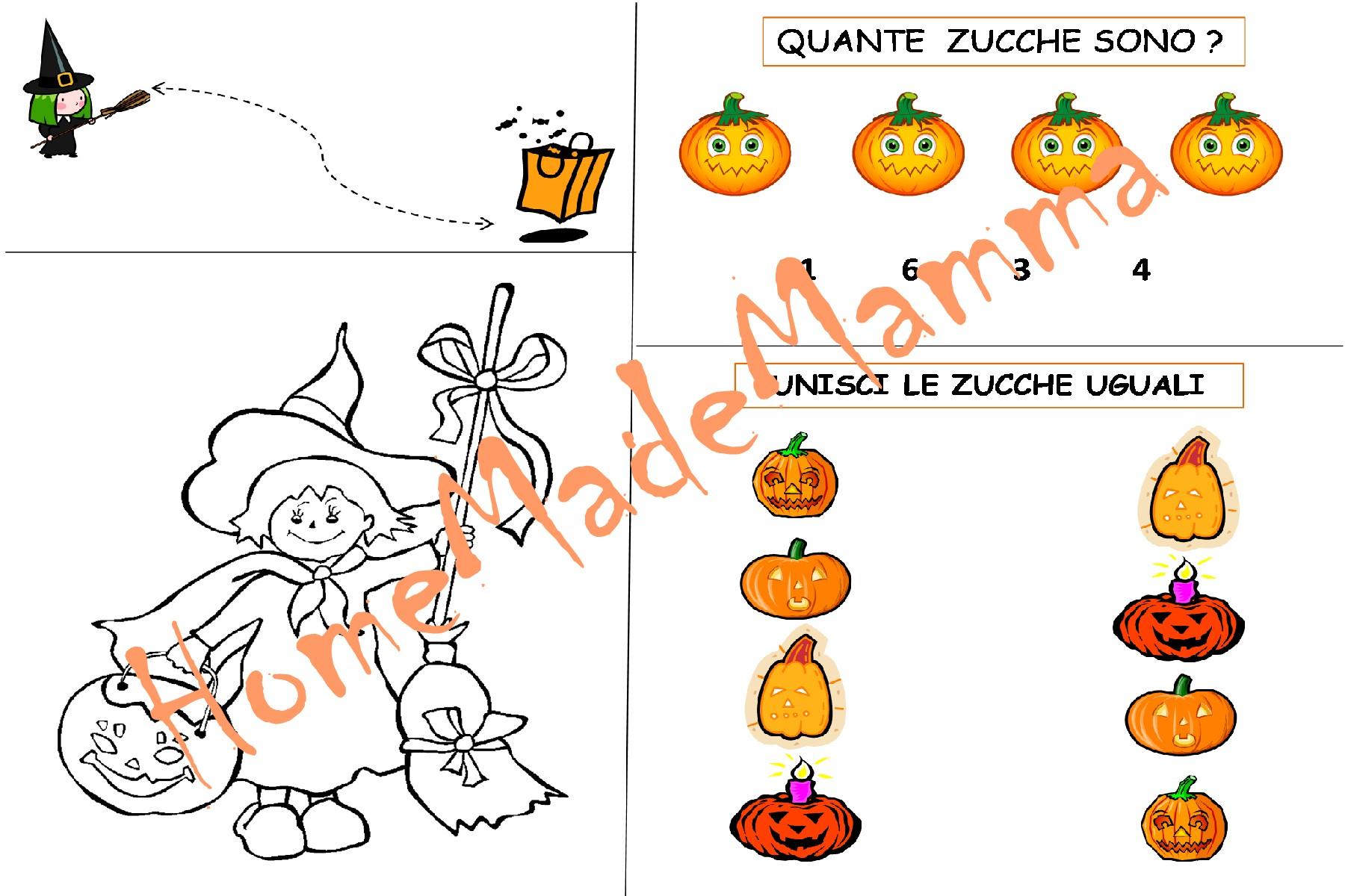 Giochi Di Halloween Da Colorare.Lavoretti Halloween Part 2