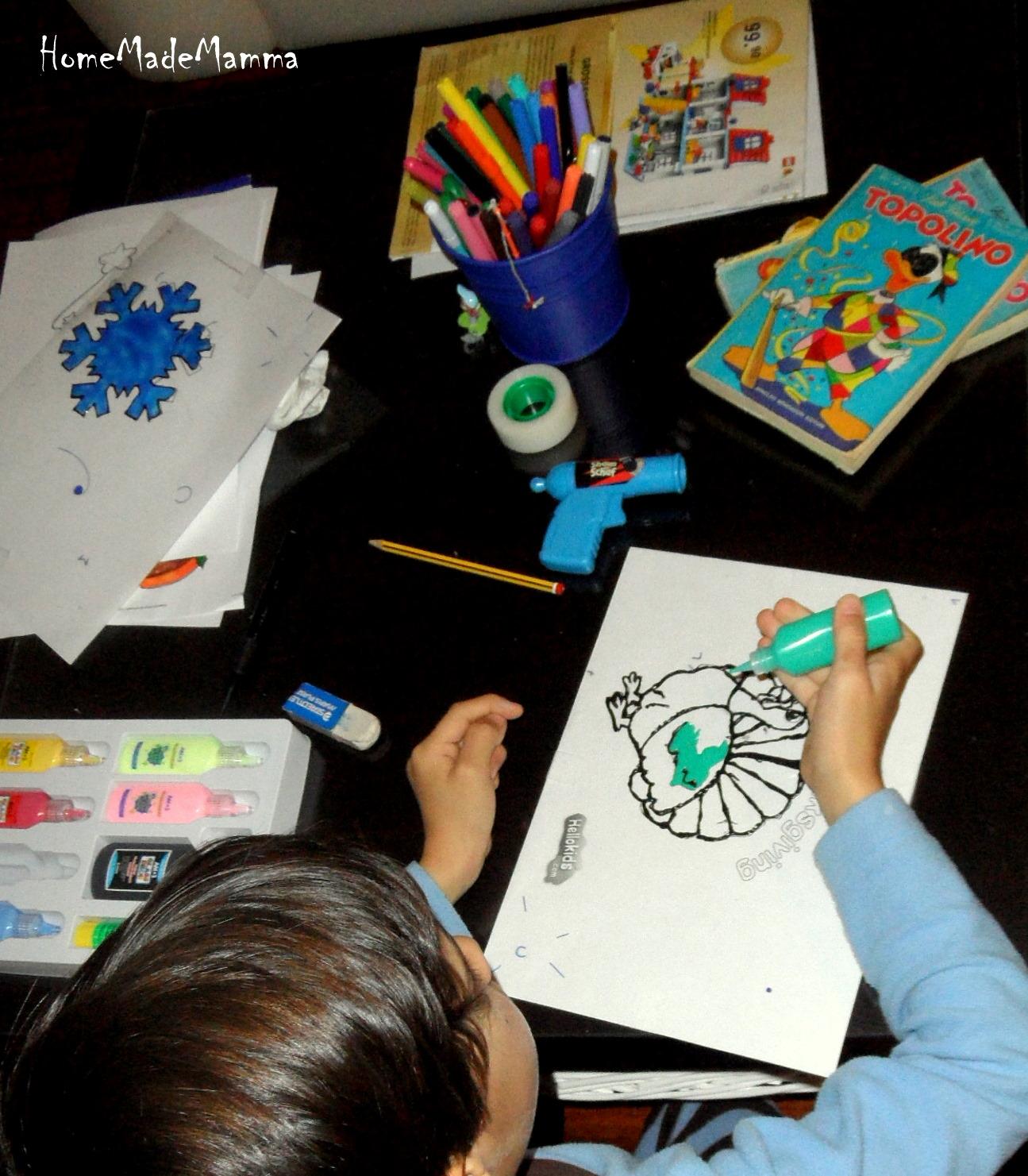 Vetrofanie fatte in casa colori per dipingere sulla pelle - Vetrofanie per finestre ...