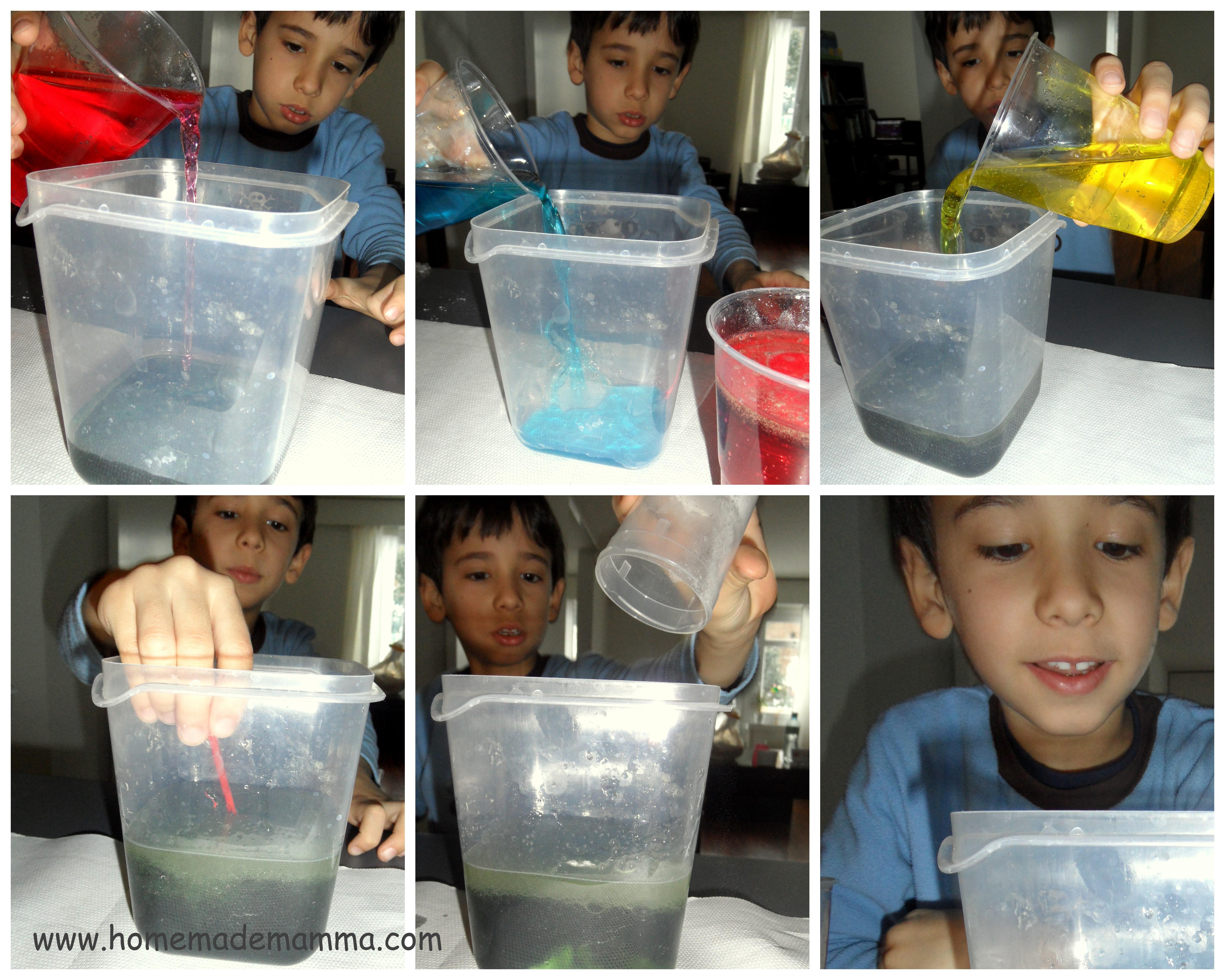 Estremamente Esperimenti scientifici con i bambini: la polverina magica crea  GR53