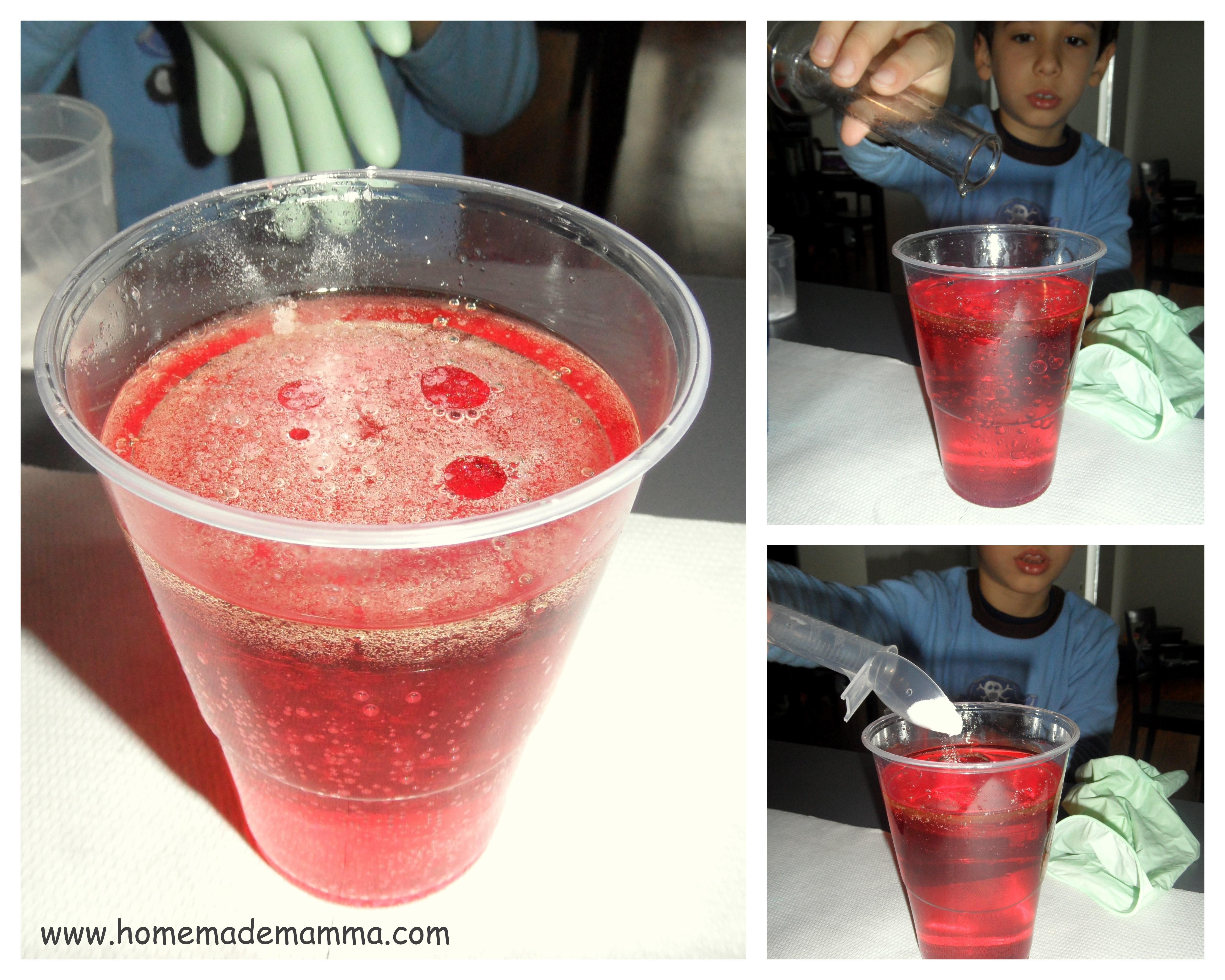 Conosciuto Esperimenti scientifici con i bambini: la polverina magica crea  KF11