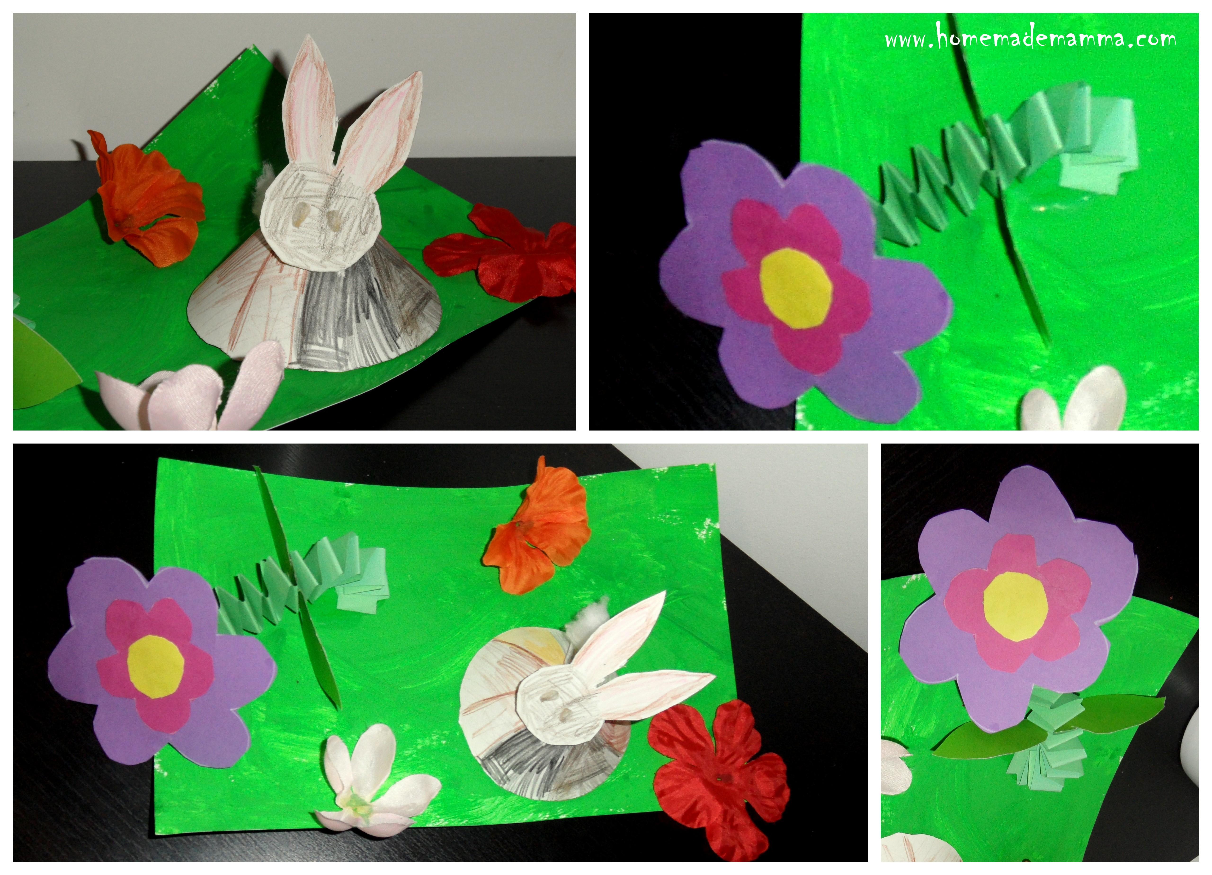 Lavoretti bambini pasqua - Modelli di coniglietto pasquale gratis ...