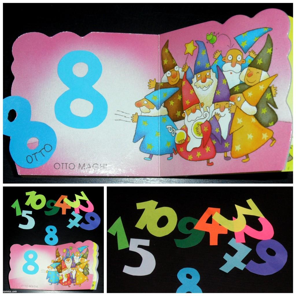 Imparare i numeri - Colore per numeri per i bambini ...