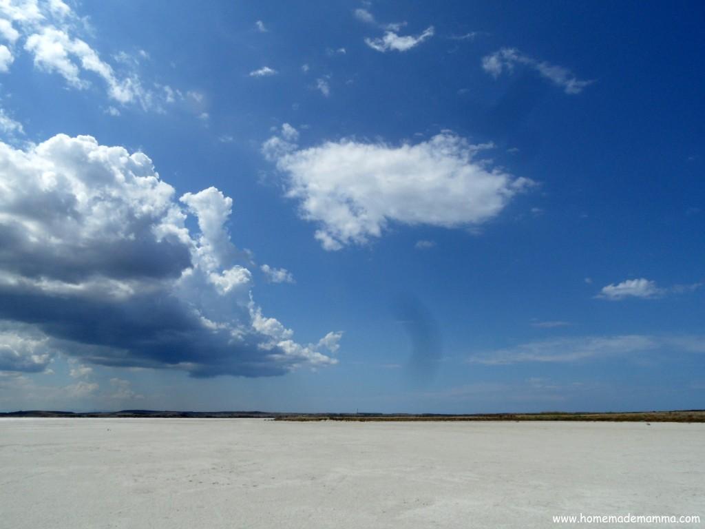 Alla scoperta della sardegna a spasso per la salina di - Alla colorazione della spiaggia ...