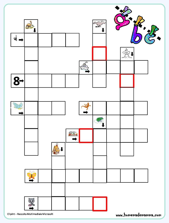 Enigmistica per bambini for Enigmistica facile da stampare