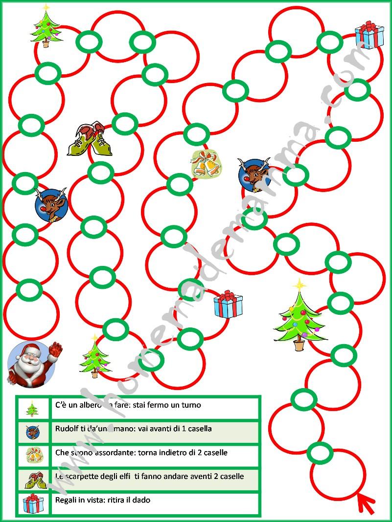 Bien connu Il gioco dell'oca di Babbo Natale | XH99