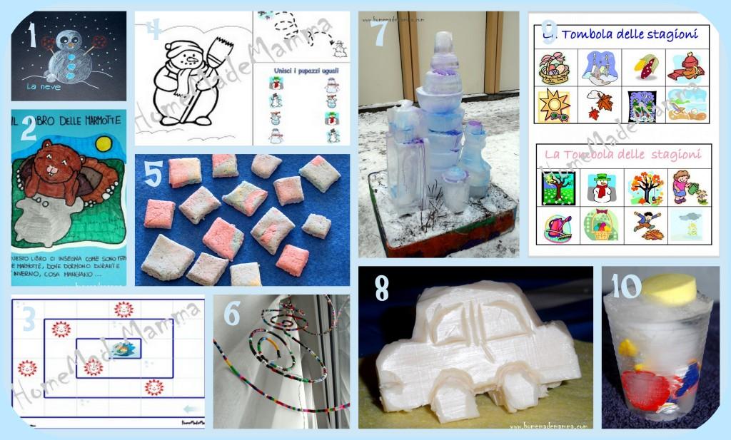 attività invernali per bambini idee