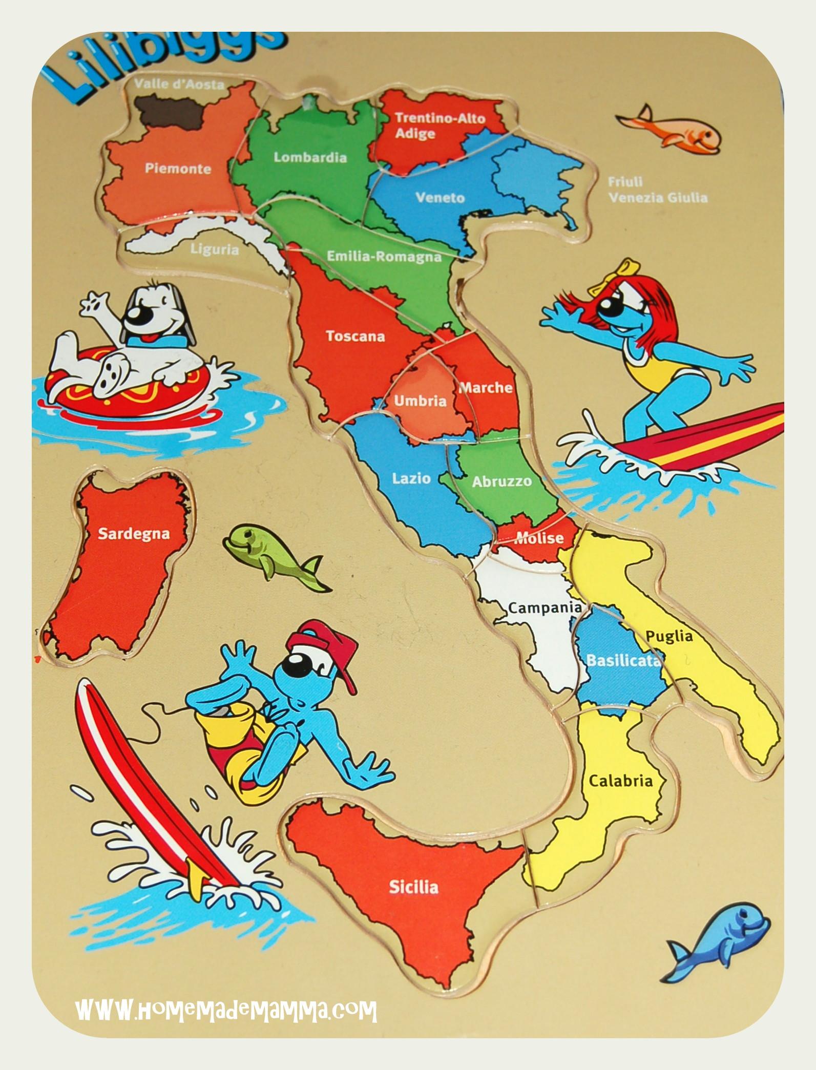 Cartina Italia Per Bambini Da Stampare.Studiare Geografia Con I Pirati