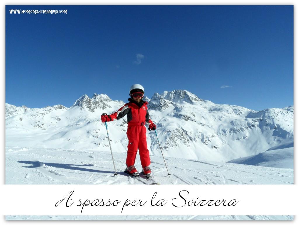 Svizzera a sciare con i bambini