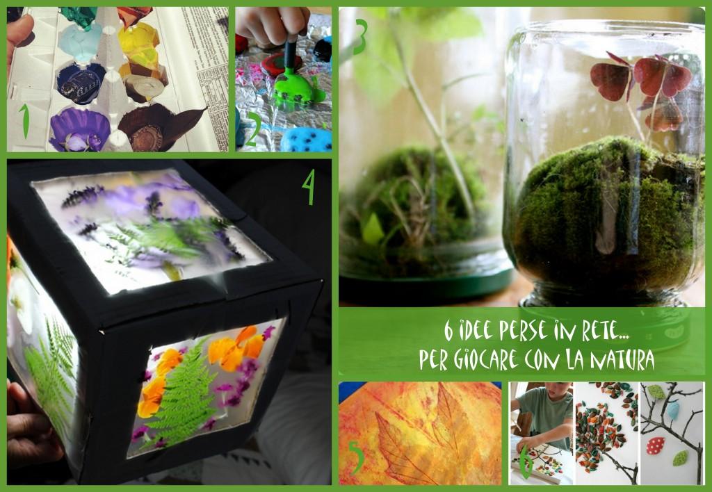 6 idee per giochi e attività da fare con la natura
