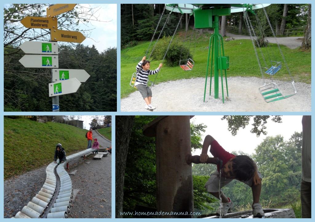 percorso dei pianeti zurigo da fare con i bambini giochi