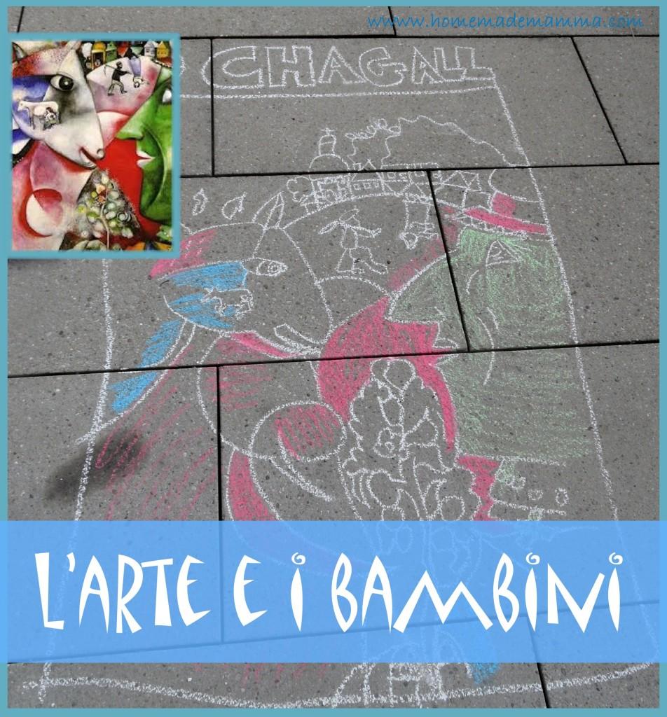 arte di chagall e i bambini