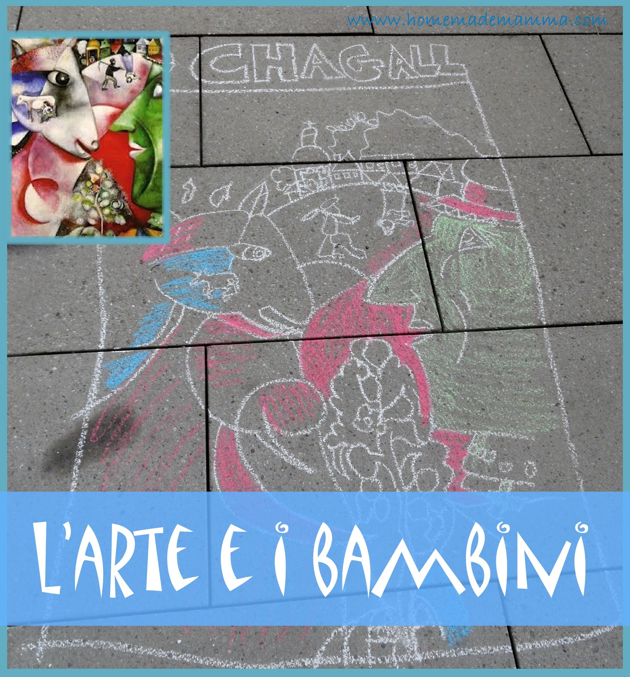L 39 arte e i bambini chagall - Arte e giardino ...