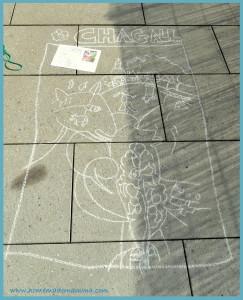 chagall con i bambini