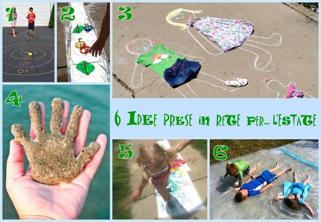 attività per l'estate da fare con i bambini