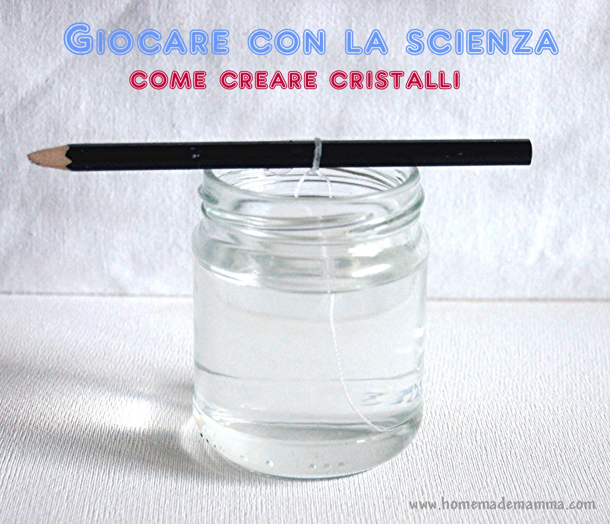 Favorito Esperimenti con i bambini: creare cristalli | WN62