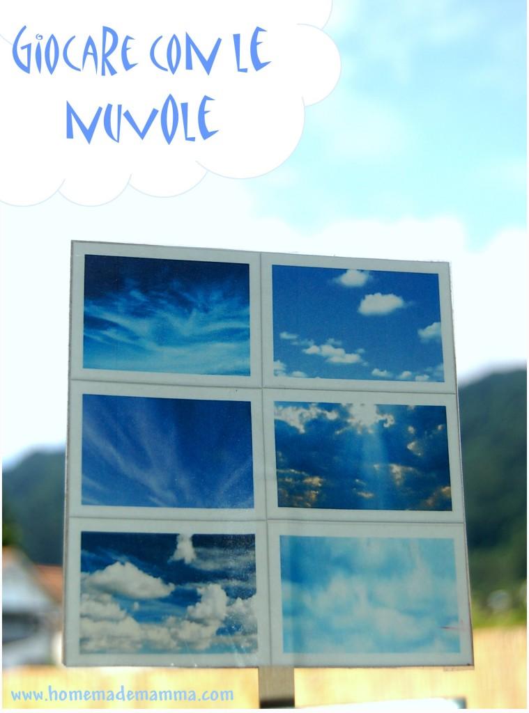 giocare con le nuvole