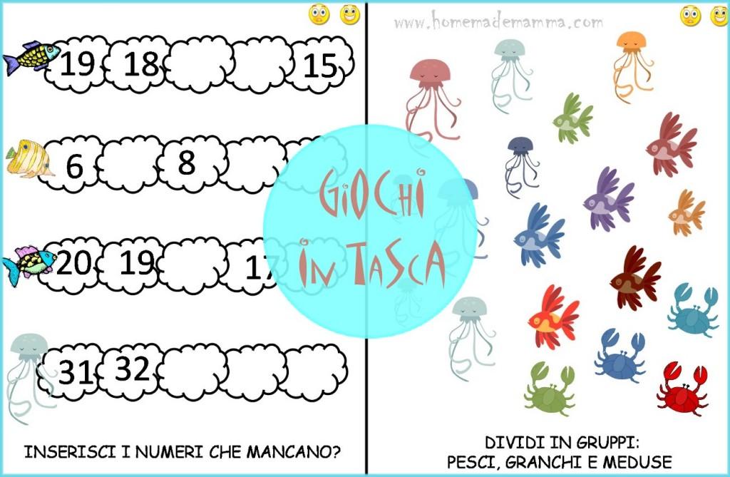 schede matematica e italiano gratis per primaria