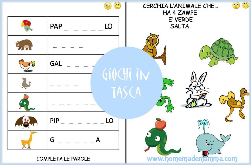 Schede gioco italiano e amtematica scuola primaria scaricare