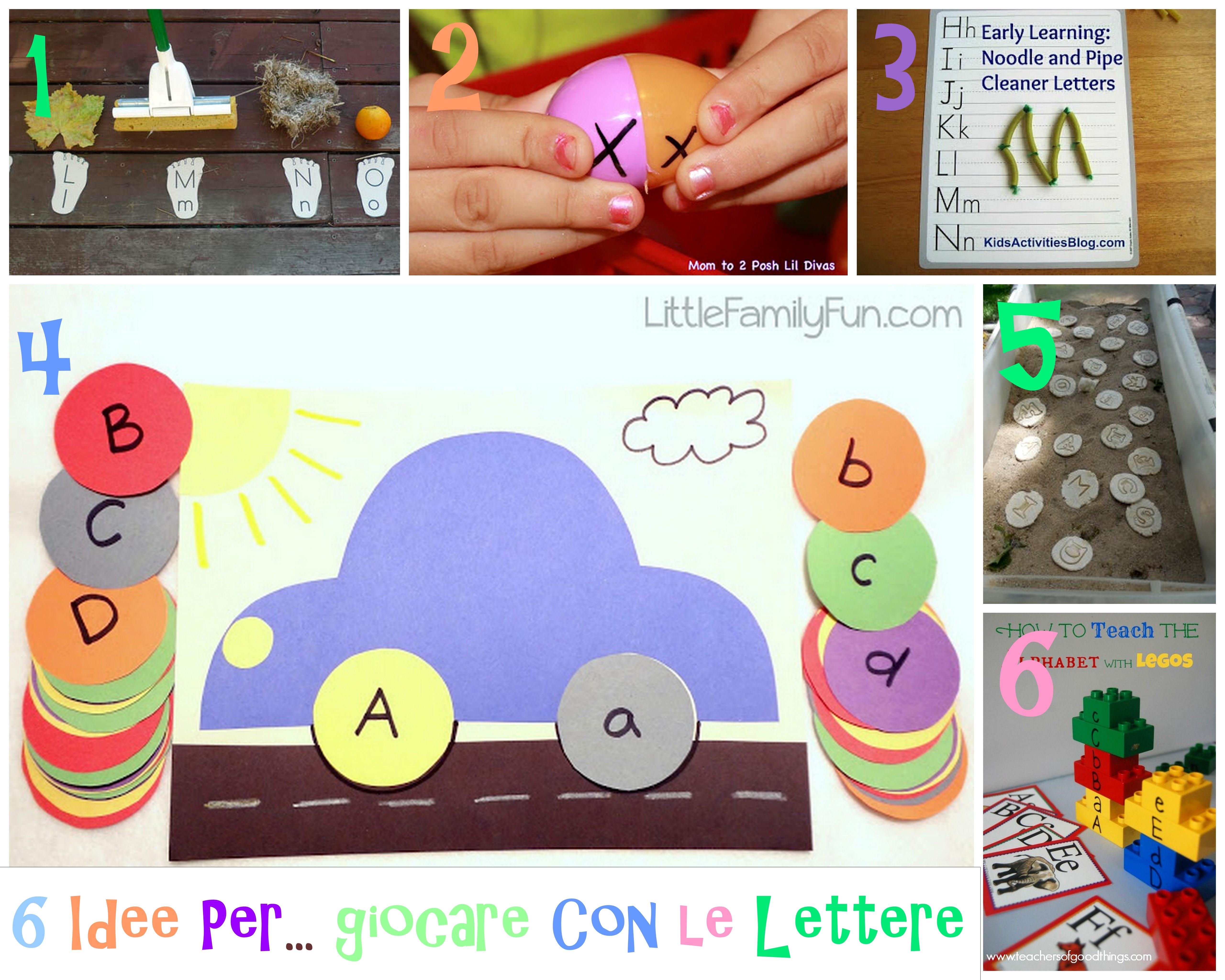 Molto Attività e giochi per imparare le lettere dell'alfabeto | MM16