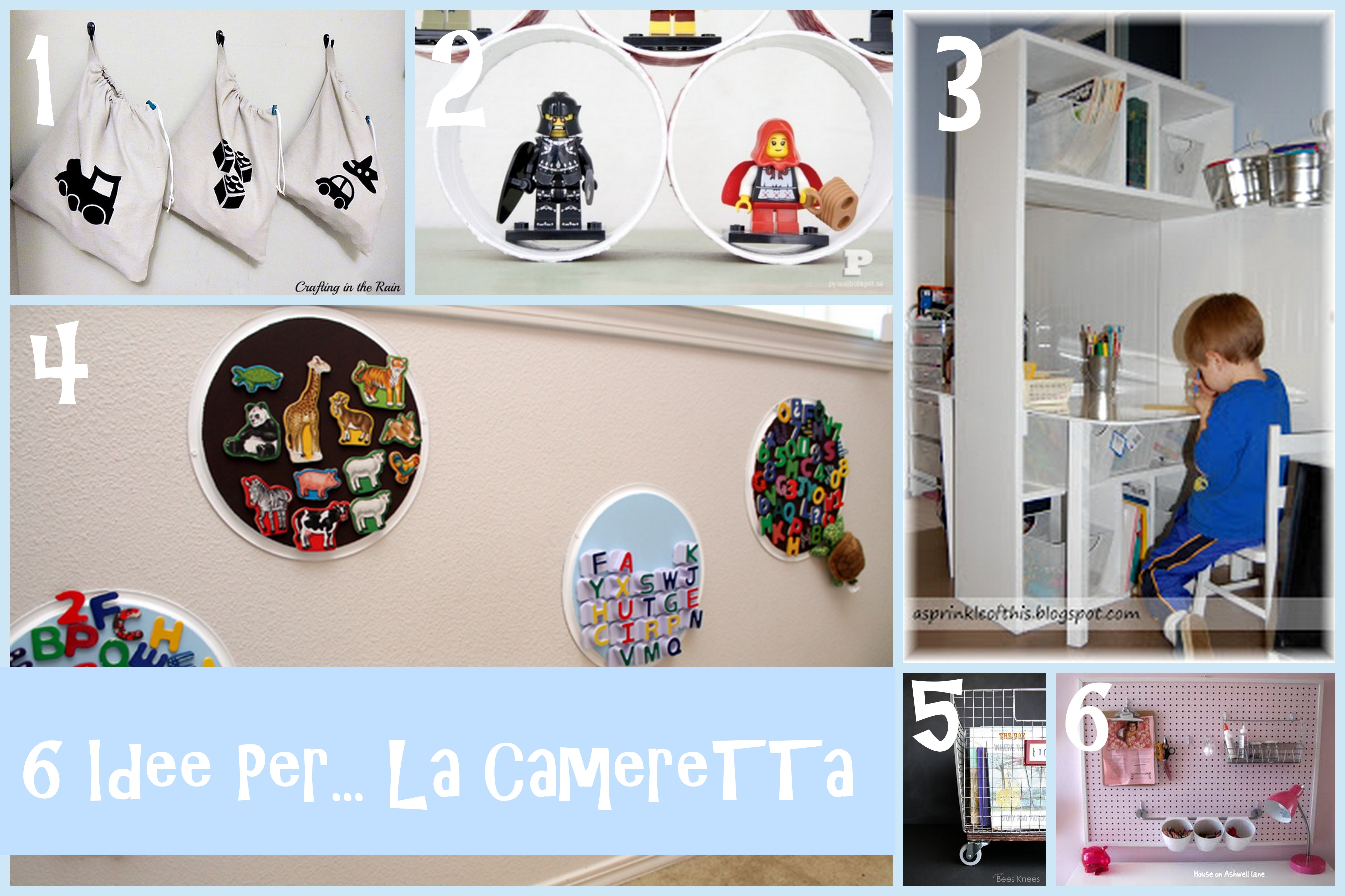 Idee per la camera dei bambini design casa creativa e for Idee per la camera