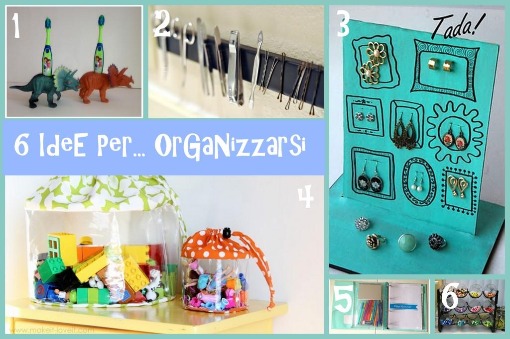 idee per organizzare casa e ufficio
