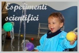esperimenti scientifici per bambini