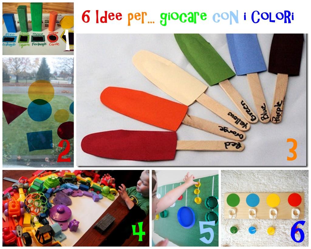 attività e giochi per imparare i colori