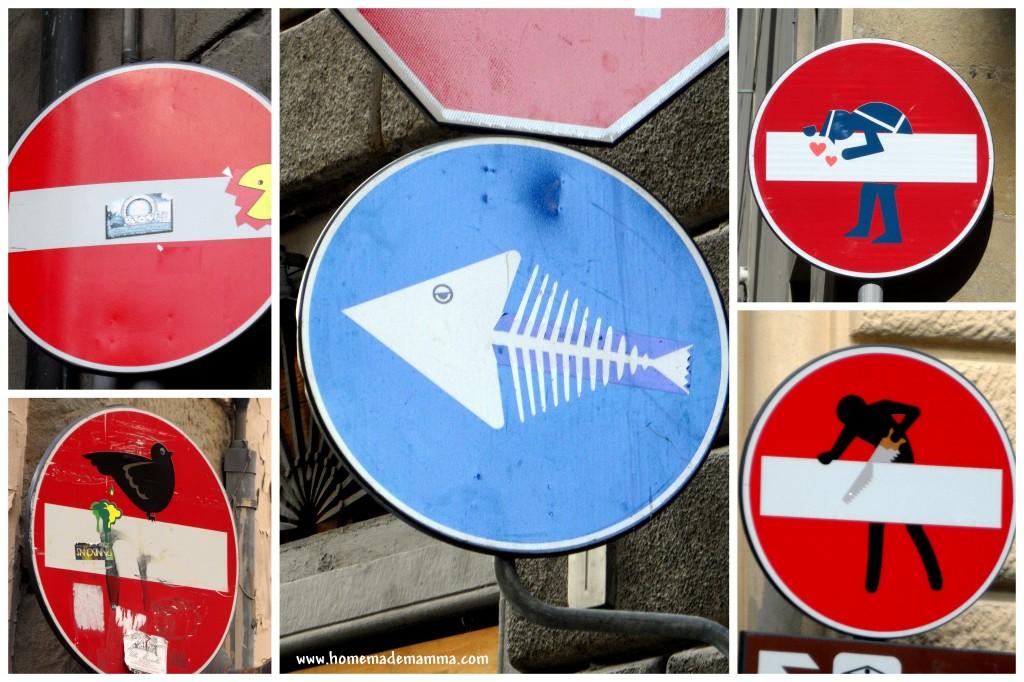 cartelli stradali firenze