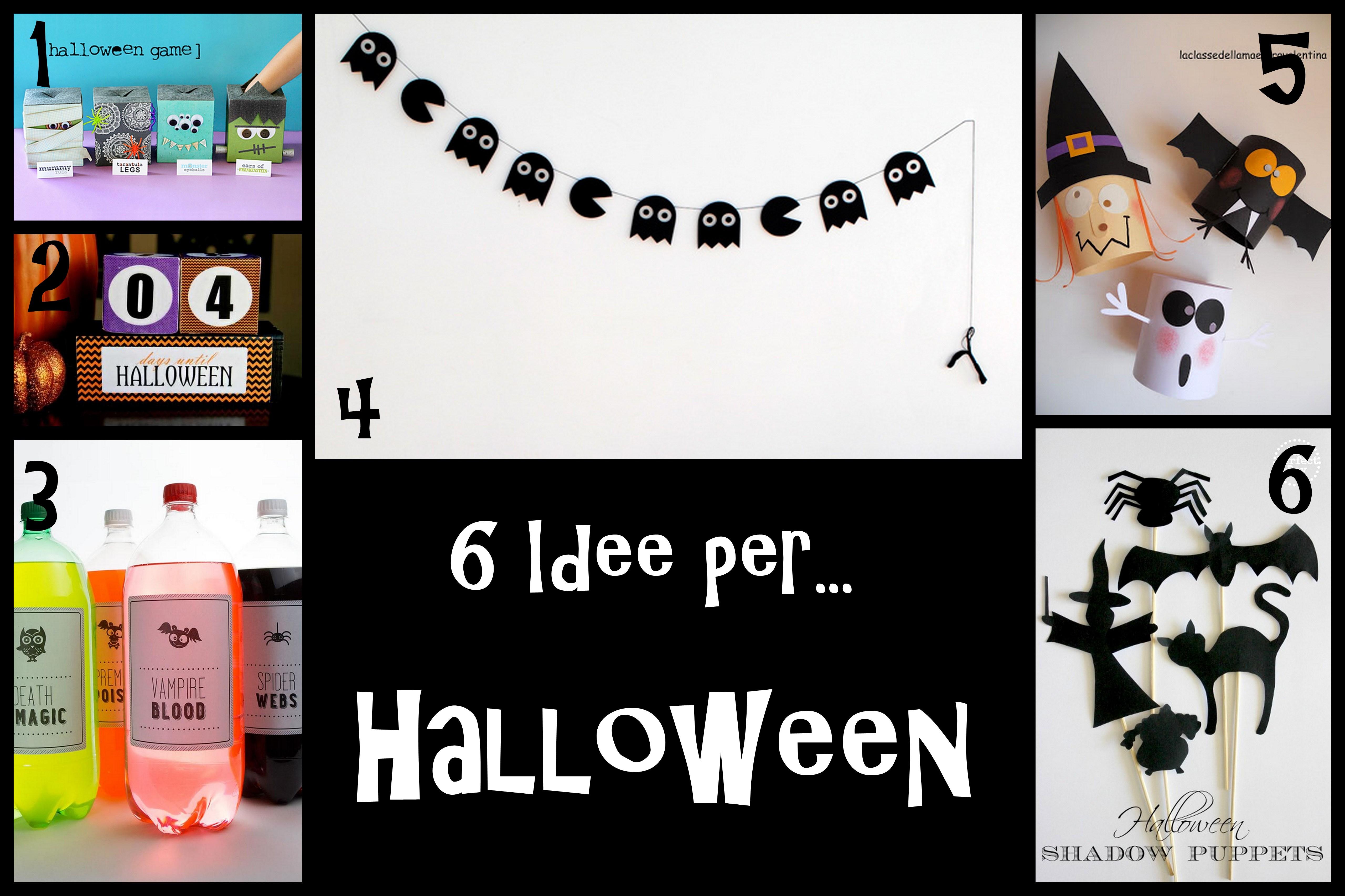 Addobbi Tavola Per Halloween lavoretti halloween | - part 2